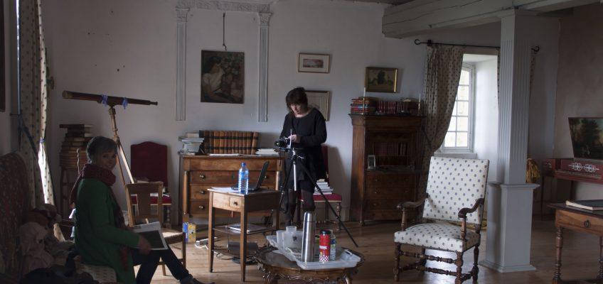 V18 Isabelle Lecomte - Préparation technique... Crédit Caroline Heberlin
